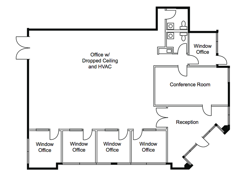 Excellent floor plan for a church in south orange county.
