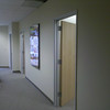 3 Private offices with one large conference / training room.  22' warehouse with truck door in the back.