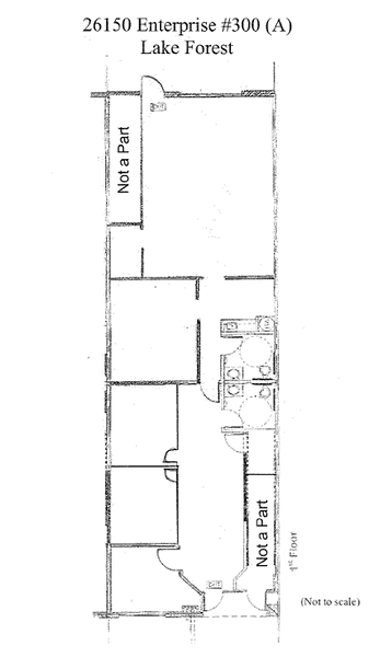 Floor plan depicting the premises.<br /> 2,295 square feet.