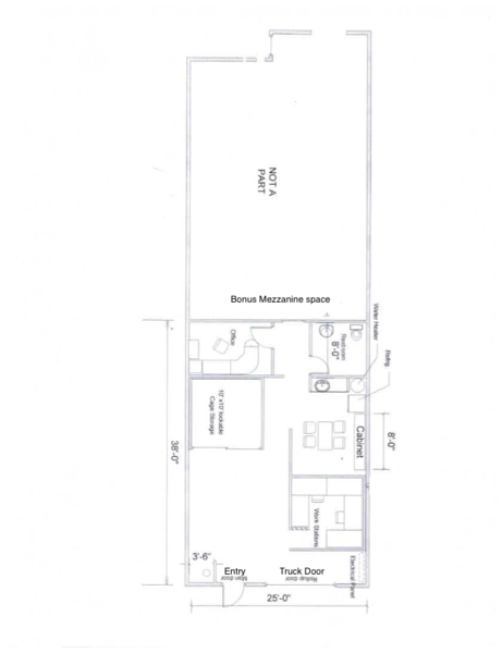 Floor plan for Enterprise Lake Forest