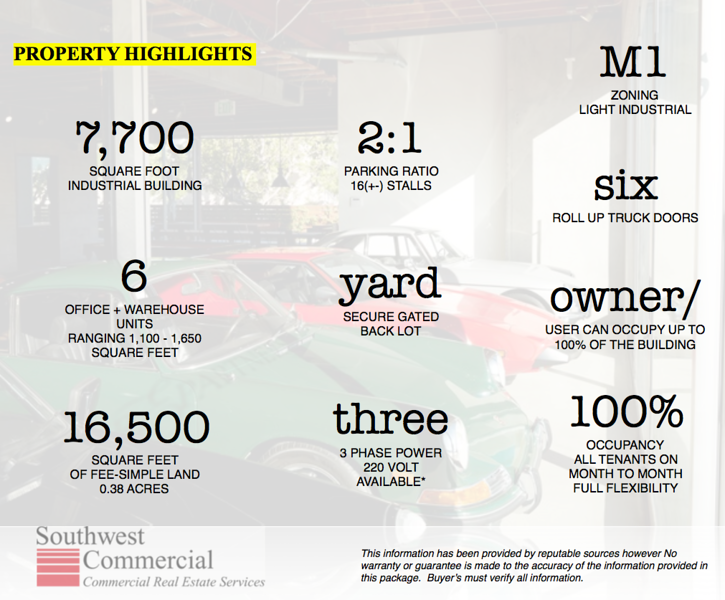 Property Highlights!