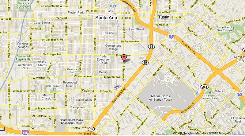 Strategic location, in the artery of Orange County.