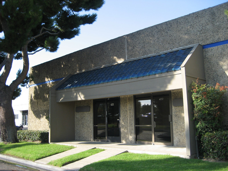 Santa Ana Industrial Space for Lease.