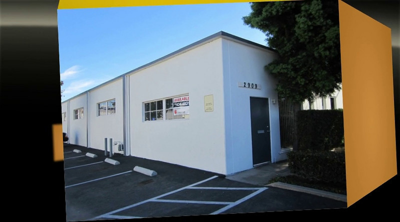 This building has been LEASED - but we do have a 3,200 square foot free standing building with two private yards that is currently available for lease!!!<br /> <br /> Dyer Business Park Santa Ana CA - Orange County<br /> 4,000 square foot free standing / stand alone industrial building for lease $0.65 gross per square foot with FREE RENT!. Abundant parking with private fenced, covered yard area.