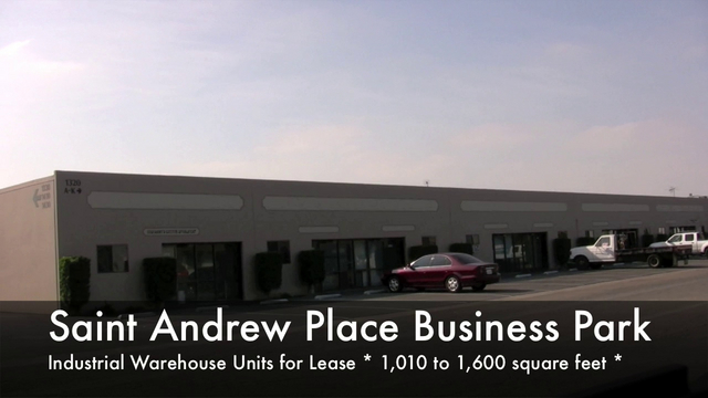 """The following Santa Ana city tour showcases industrial warehouse units for lease from 700 to 55,000+ square feet.  Strategic locations in Santa Ana with excellent freeway and street access.  Free rent, cheap rent and tenant improvements available for new tenants / renters.  Rents at 10-15 year lows! Take Advantage of these Deals *CALL 714-434-4831 Jordan DeMeis*  <a href=""""http://www.swcre.com"""">http://www.swcre.com</a> 