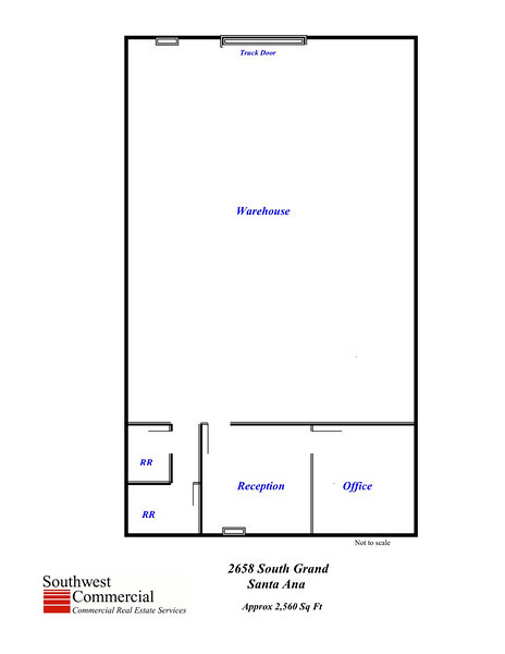 2,560 square foot floor plan
