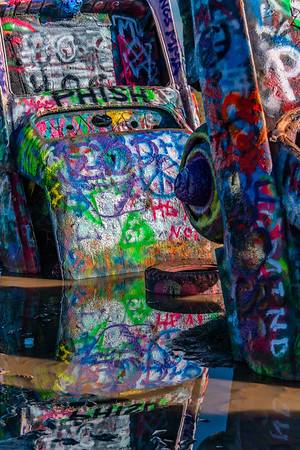 Cadillac Ranch - Honorable Mention - by Mark Friedman