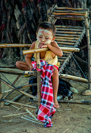 Life Along the Irrawaddy River, Yangon, Burma - Third Place - by Val Ascencio