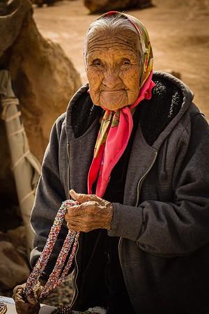 Navajo Elder - Carol Moore
