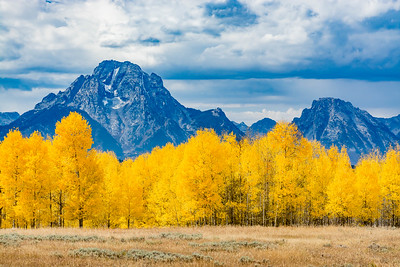 Fall in the Tetons - Richard Sivertson