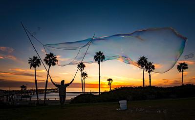 Bubbleman of San Clemente - Rick Valasek