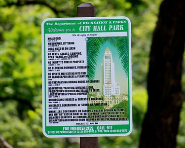 LA CITY HALL ~ NEW RULES