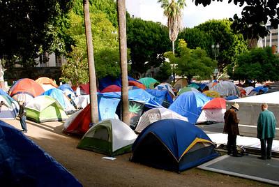 OCCUPY LA DAY 50 ~ NOV.19 2011