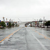 August 27, 2011 - 12:30pm - Ocean City, NJ as Hurricane Irene Approaches<br /> <br /> 9th Street Entrance and Exit to Ocean City on a Saturdfay afternoon