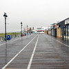 August 27, 2011 - 12:30pm - Ocean City, NJ as Hurricane Irene Approaches<br /> <br /> View of empty boardwalk south from 12th street