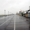 August 27, 2011 - 12:30pm - Ocean City, NJ as Hurricane Irene Approaches<br /> <br /> Boardwalk & 9th Street looking South