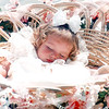 Morgan Sheppard, 17 months of Millville, NJ sleeps in basket at Ocean City Baby Parade<br /> Please use Donald B. Kravitz (DBKphoto) as the photo credit.