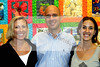 Cammie Williams_Steve Lerner_Ali Meyer  at the Norton Gallery in WPB #1