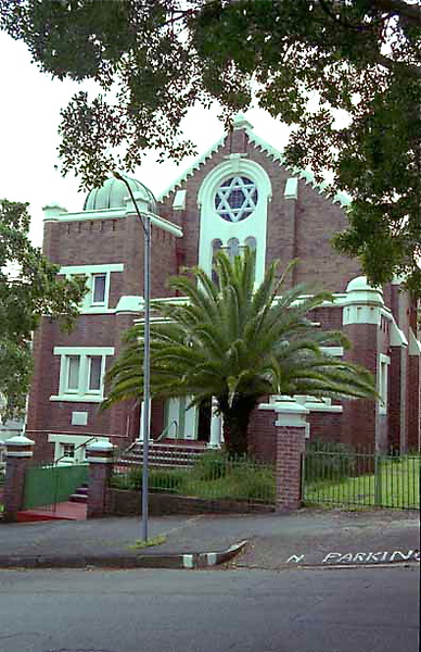 AUSTRALIA, New South Wales, Newcastle. Newcastle Synagogue. (1999)