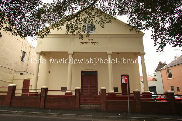 AUSTRALIA, New South Wales, Sydney. Newtown Synagogue. (8.2010)