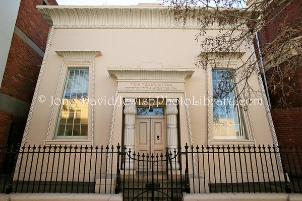 AUSTRALIA, Tasmania, Hobart. Hobart Synagogue (the oldest synagogue in Australia, consecrated. 1845). (8.2010)