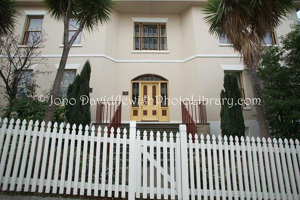 AUSTRALIA, Tasmania, Hobart. Temple House (formerly, Argyle House), former residence of the Solomon and Benjamin mercantile families. (8.2010)