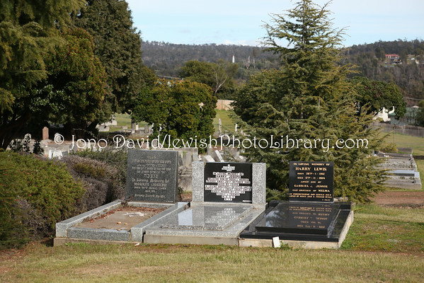 AUSTRALIA, Tasmania, Launceston. Jewish Cemetery at Carr Villa Memorial Park. (8.2010)