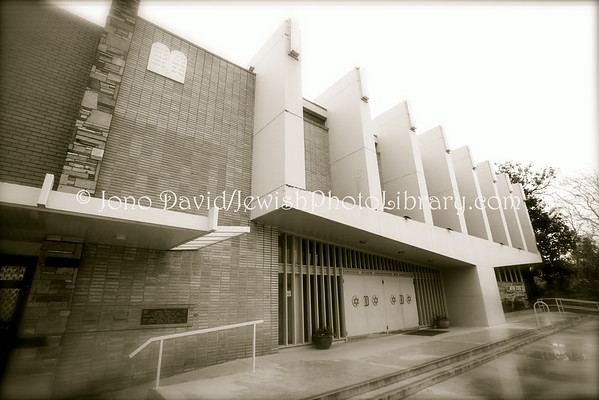 AUSTRALIA, Victoria, Melbourne. Caulfield Hebrew Congregation. (8.2010)