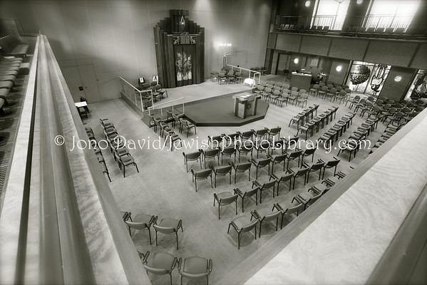 AUSTRALIA, Victoria, Melbourne. Temple Beth Israel. (8.2010)