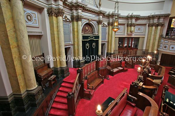AUSTRALIA, Victoria, Melbourne. Melbourne Hebrew Congregation (Toorak Synagogue). (8.2010)