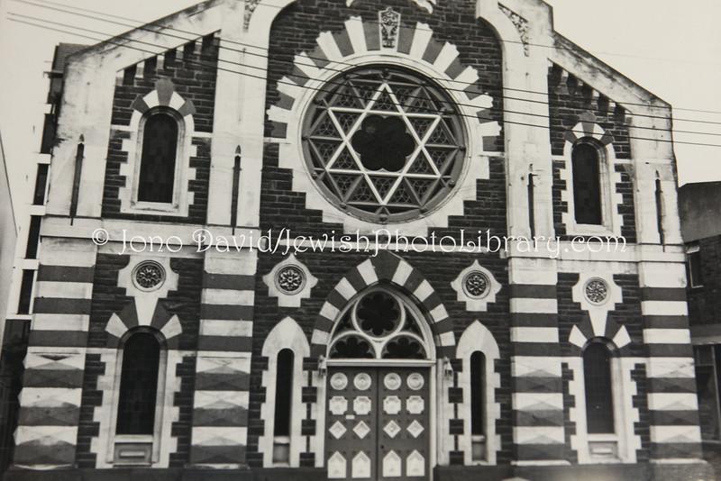 NZ 38  Former Canterbury Hebrew Congregation