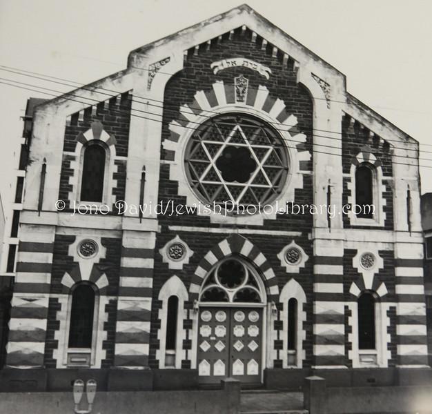NZ 40  Former Canterbury Hebrew Congregation