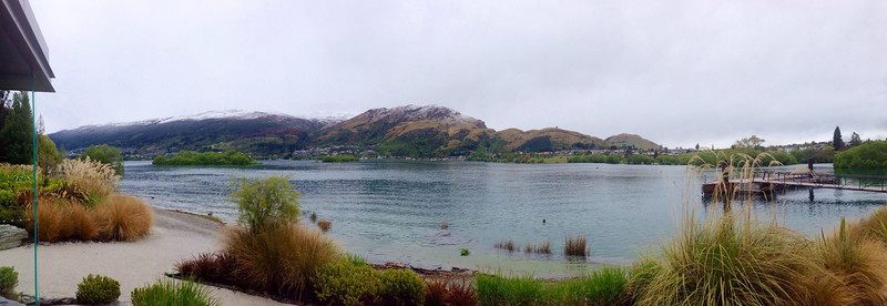 Nice view from hotel bar<br /> Queenstown, New Zealand<br /> Sunday October 27th, 2013<br /> <br /> #iphone