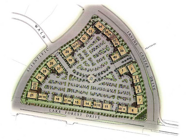 Site Plan for the Bacchus Signature Series