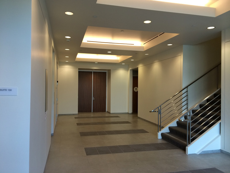 Office Lobby with Modern finishes