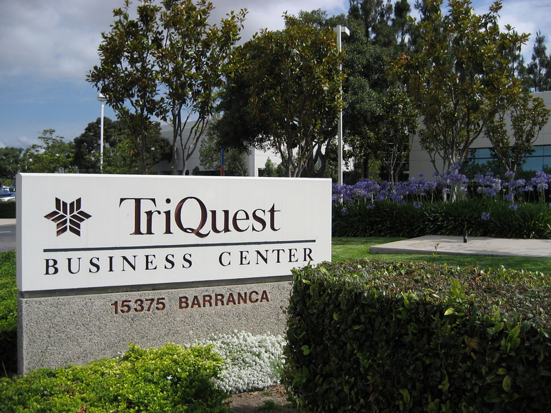 The Prestigious TriQuest Business Center located in Irvine Spectrum CA off Barranca and Irvine Center dr.
