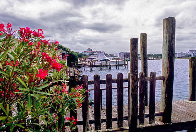 Ocracoke Harbor From Near the General Store