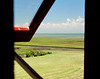 Looking out from the old Coast Guard Watchtower on Portsmouth Island, NC