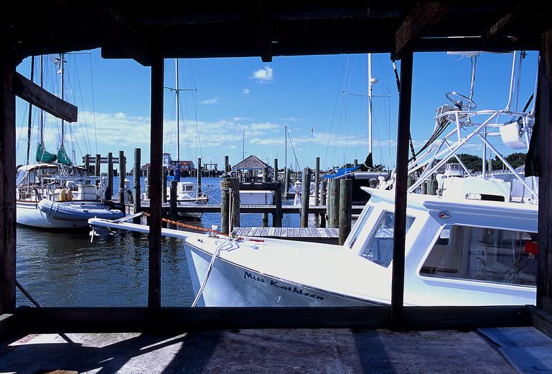 Ocracoke Harbor