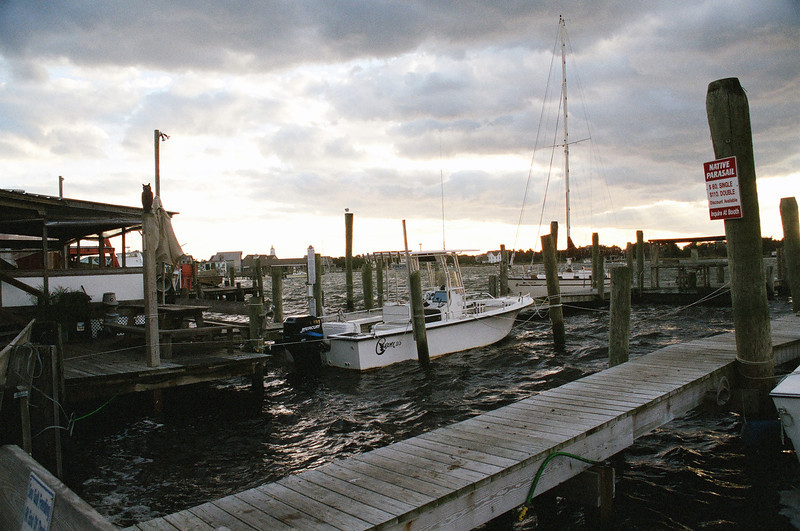 "Ocracoke Harbor - Known locally as ""Silver Lake"""