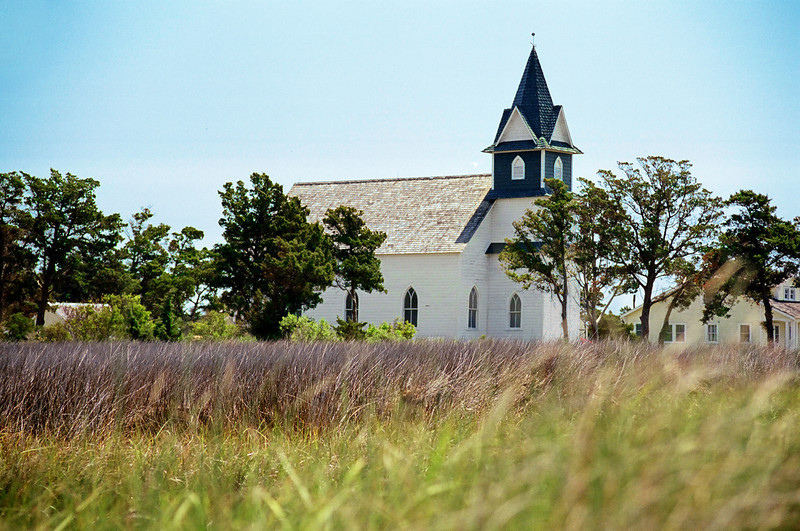 The Church on Portsmouth Island, NC
