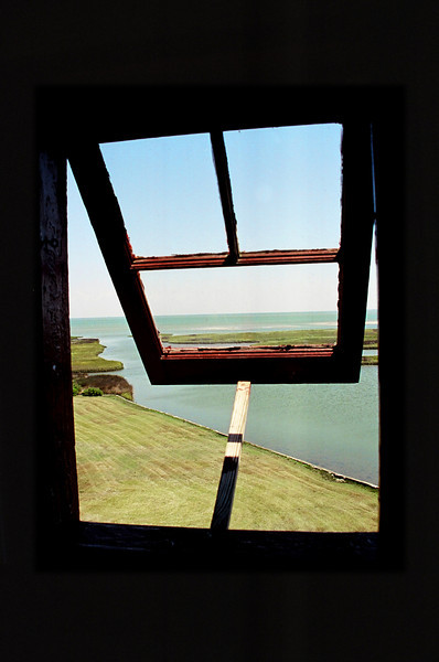 From the Old Coast Guard Watchtower on Portsmouth Island, NC