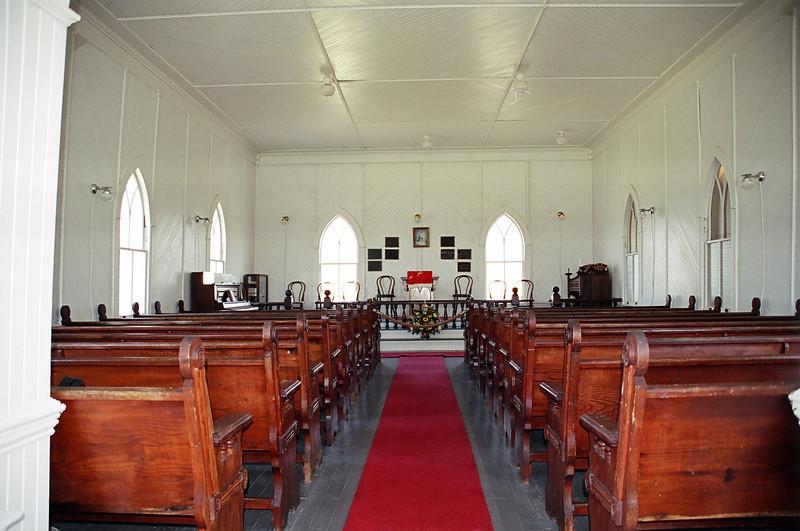 The Community Church on Portsmough Island, NC