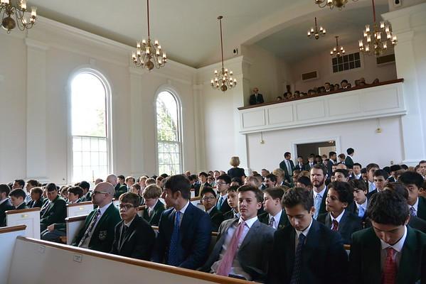 Chapel Service at Cardigan Mountain School