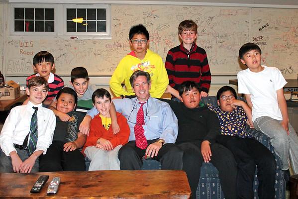 Sixth Graders Bond at Head's House