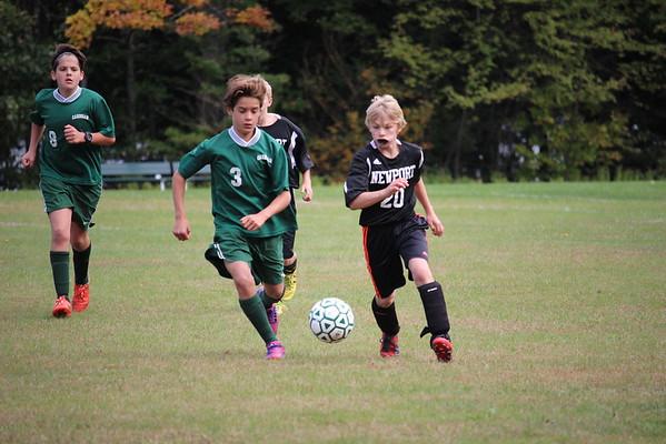Thirds Soccer v. Newport Middle School