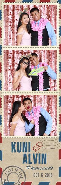 Alvin and Kuni's Wedding