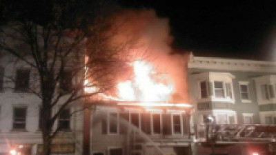BLOOMSBURG COMMERCIAL FIRE 10-25-2009