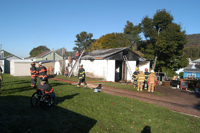MUIR - PORTER TOWNSHIP STRUCTURE FIRE 1019-2009 PICTURES AND VIDEO BY COALREGIONFIRE