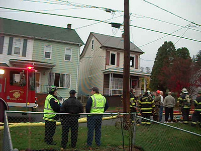 SCHUYLKILL TOWNSHIP HOUSE FIRE 10-31-2009 PICTURES AND VIDEO BY COALREGIONFIRE